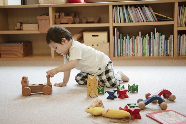 ちひろ美術館・東京 こどものへや 撮影/大槻志穂