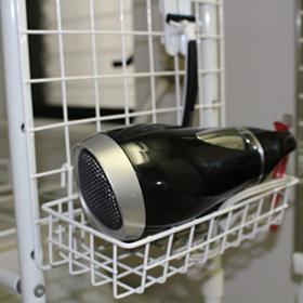 洗面台にポンと置いてない? 達人が教える「ドライヤー収納アイデア」5つ