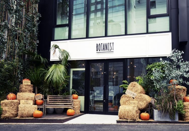 プレゼントも! BOTANIST Tokyo「秋の収穫祭」ハロウィン限定メニュー