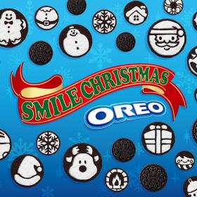子どもが喜ぶ「オレオアート」も!クリスマスを楽しめる特設ページがオープン