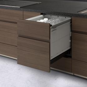 お弁当箱もガチっとホールド!「上かごが進化した」食器洗い乾燥機とは?