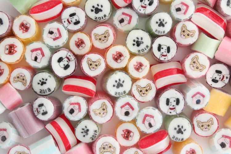 パパブブレの「犬づくし」正月ミックスキャンディが可愛すぎる