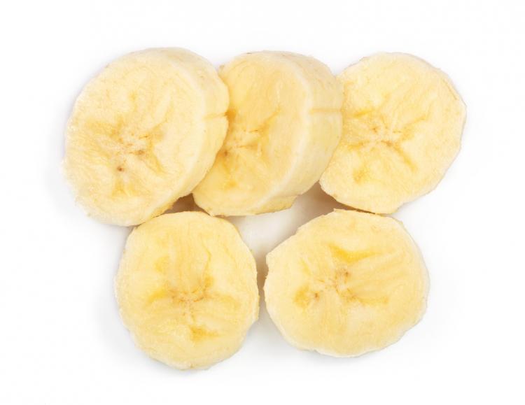 バナナ 冷凍保存 輪切り