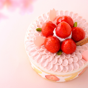 まるで満開の花びらのよう!「さくらのケーキ」がアンティノールから期間限定発売