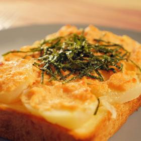 【トースト1週間アレンジ#木曜日】魅惑の組み合わせ!「じゃがいも明太トースト」のレシピ