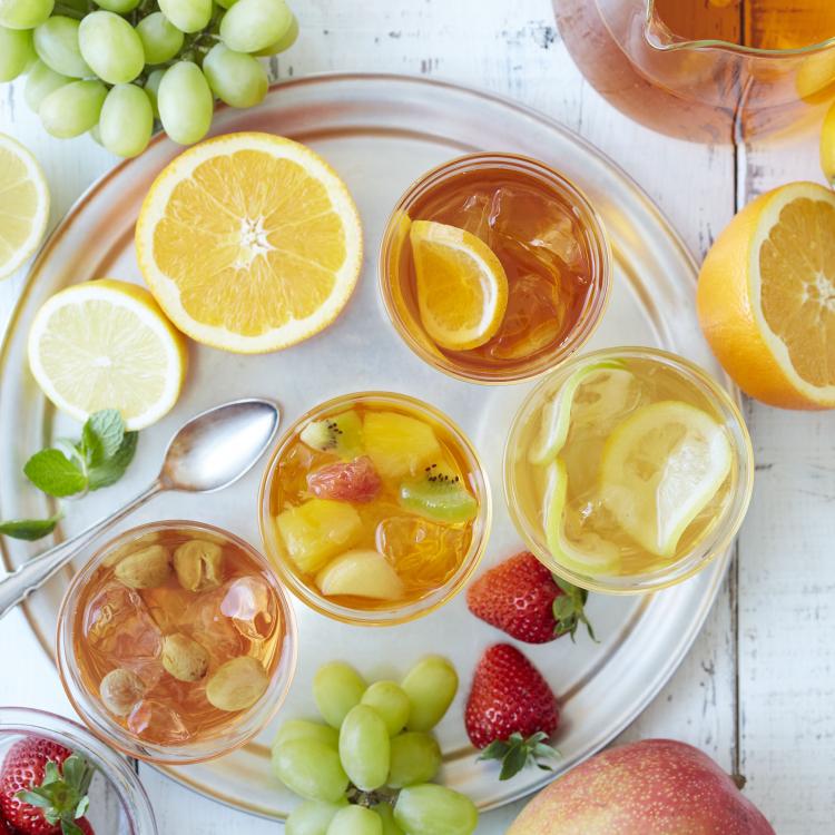 水出しアイスティーで作る!Afternoon Tea発「フルーツアイスティー」アレンジ