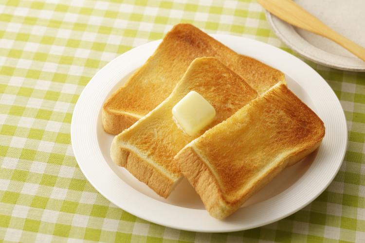 食パン トースト ふわふわ