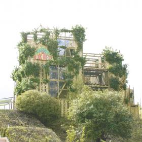 GWにおすすめ!5階建ての巨大アスレチック「DOKIDOKI」にkufuraが行ってみた
