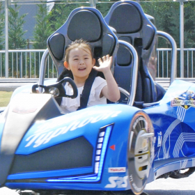 世界初の2人乗りバトルコースター誕生!「鈴鹿サーキット」にkufuraが行ってみた