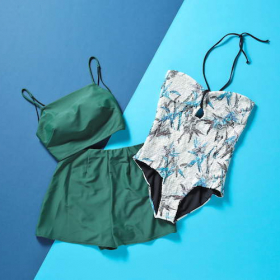 体型も流行もカバーできる!今季の水着は大人にうれしいハイウエストボトムスとワンピが2大勢力