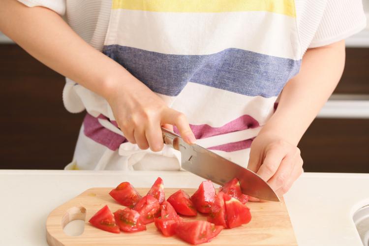 トマト 冷凍保存 カット