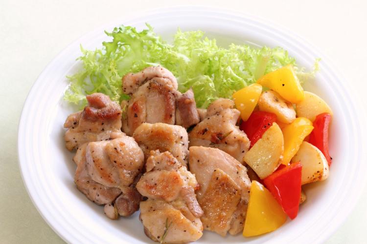 鶏もも肉 冷凍保存 一口サイズ