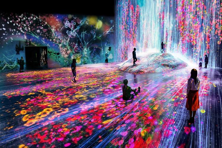 身体で世界を捉える!teamLabのデジタルアートミュージアムが6/21に開館