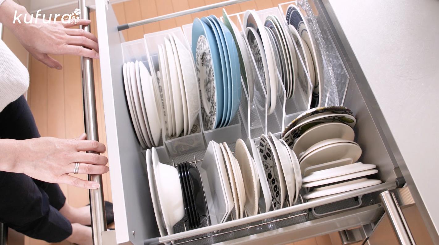 収納達人のお宅訪問「お皿・パントリー」編!無印アイテムで見せない部分まで美しく