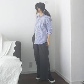 夏定番のシャツコーディネート!2枚目に買いたい濃い色&ストライプシャツ【kufuraファッション調査隊#6】