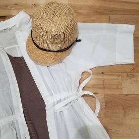 無印良品・UNIQLO・GU人気ブランドのシャツワンピースコーディネート【kufuraファッション調査隊#8】