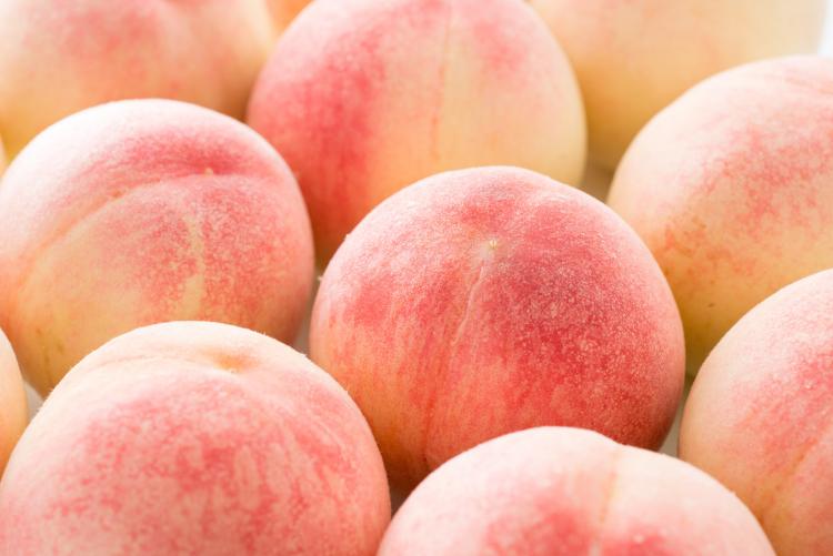 桃 冷蔵保存