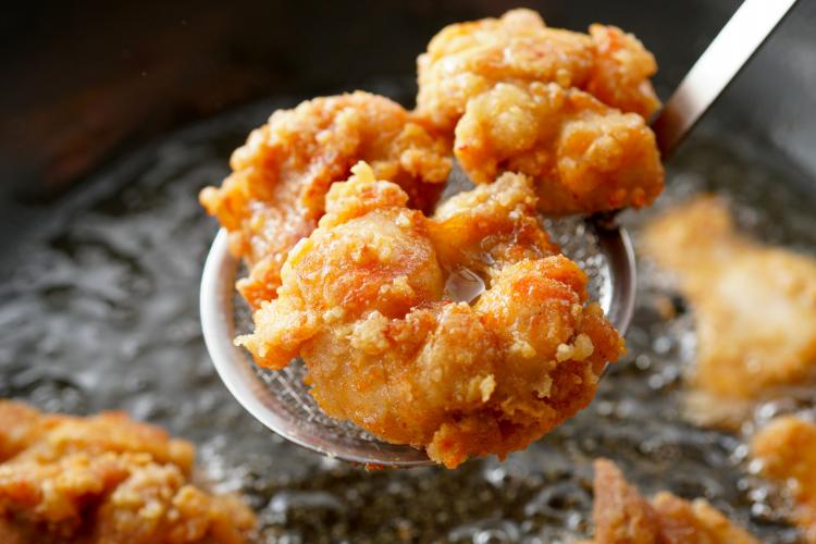 鶏むね肉&ささみの唐揚げ ジューシー