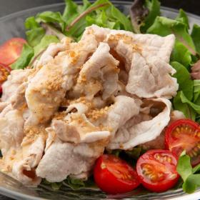 冷しゃぶが主食に!? 野菜・麺類・エスニック…夏にぴったり「冷しゃぶ」アレンジレシピ