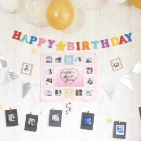 誕生日パーティーの飾り付けは「スクエアチェキ」でカンタン手作り!【マイベストアイテムを探せ】