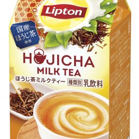 ほうじ茶でミルクティー!気持ち安らぐ新フレーバーが「リプトン」から期間限定で発売