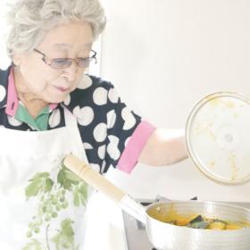 のこしていきたい母の味「かぼちゃの甘煮」【93歳・ばぁばの愛情たっぷりごはん】
