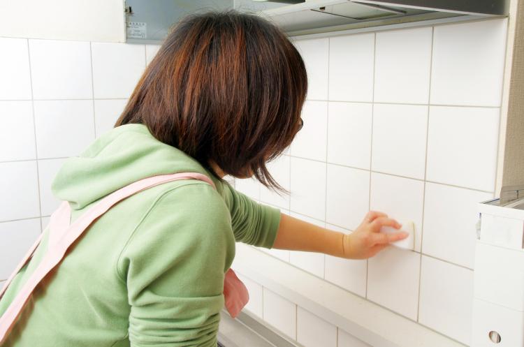 重曹 キッチン 油汚れ