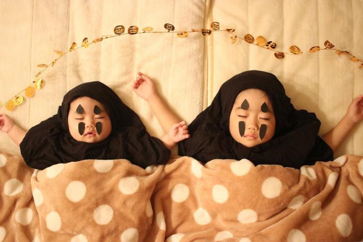 寝相アートでハロウィンも?2歳の仮装は人気キャラクターになりきり【ハロウィン調査隊#3】