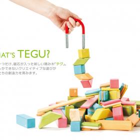 世界初!小さな子どもも遊べる「磁石が入った積み木」がダッドウェイから新発売