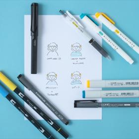 イラスト手紙を華やかに! カラーペンの選び方【なぞり描きシートで簡単イラスト術#4】