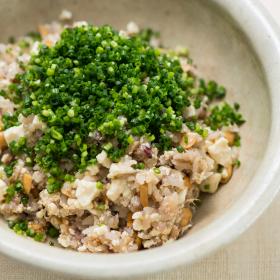 「お豆腐炒飯」 もたれない・太らない・20分でできる! 松田美智子の真夜中ごはん#1