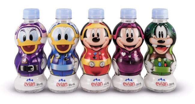 揃えたくなる!エビアンから「ミッキーマウスとロードレーサーズ」デザインボトルが限定登場