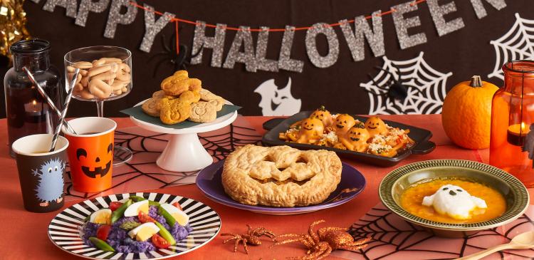 「Kit Oisix」でハロウィンディナーも手配り菓子も!メレンゲおばけほか5商品を限定発売