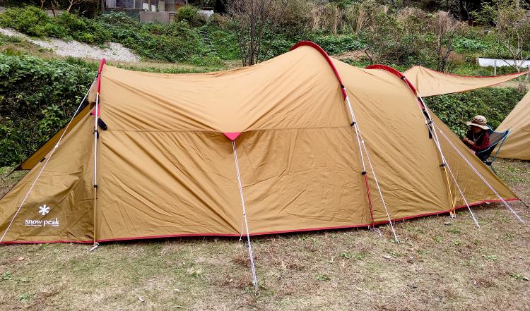 スノーピークのテント「ヴォールト」