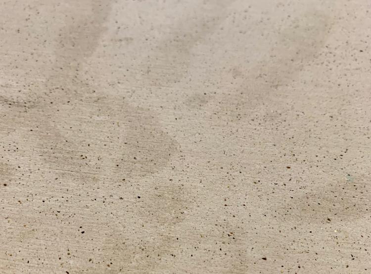 soilの「GEM バスマット スタンダード」 吸水力