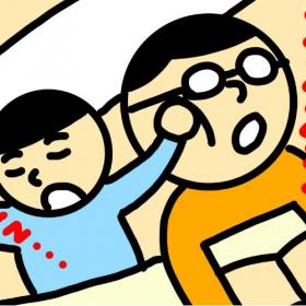 【俳優ときどき会社員。 眼鏡太郎の新米パパ日記 #5】育児の花形!寝かしつけ最高