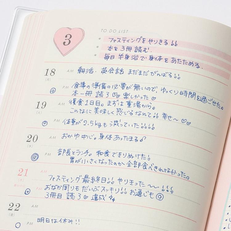 いい女.diary 2019 Discover21 ダイアリーメモ