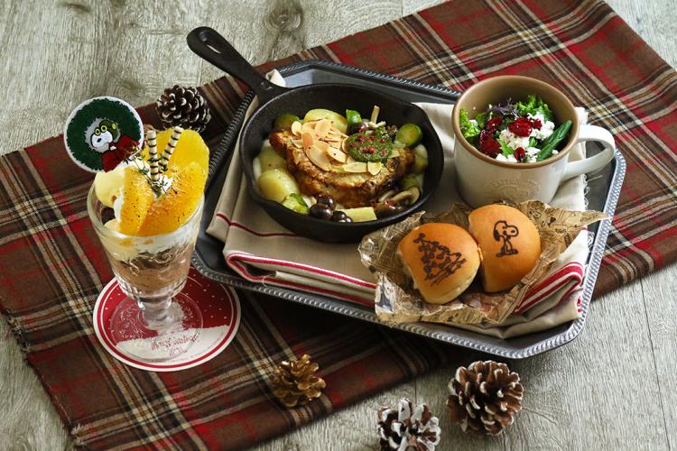 「チャーリー・ブラウンのクリスマス」がPEANUTS Cafe&DINER で始まります!