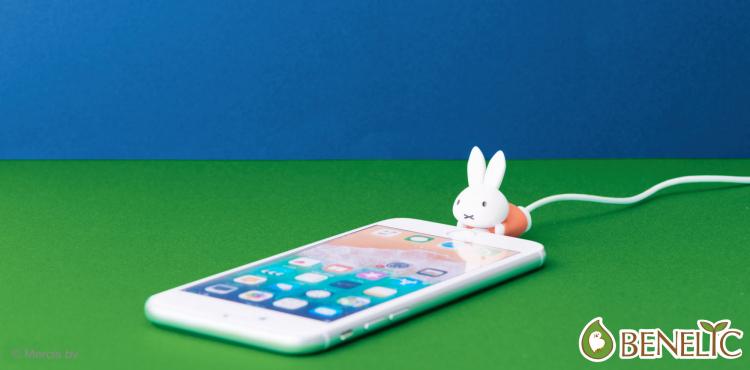 ミッフィーがスマホにぴたっ!iPhone用「ケーブルバイト」にミッフィーシリーズが登場