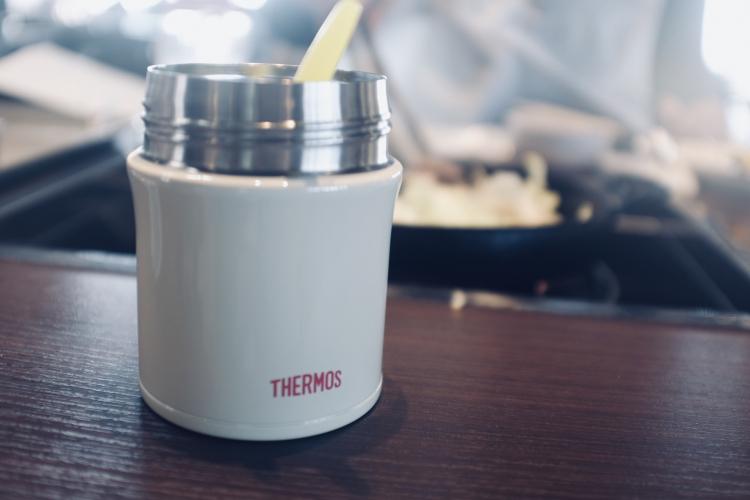 冬の離乳食の持ち運びには「サーモスの断熱スープジャー」が便利です【働くお母さんの、コレ買って大正解!#16】