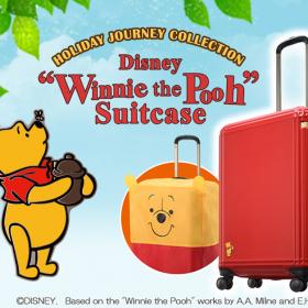 「くまのプーさん」のお耳が可愛すぎ!プーさんカバー付きスーツケース発売