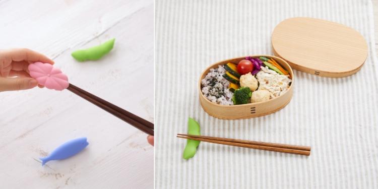 箸置きにも!お箸をコンパクトに持ち運べる「お箸カバー」が新発売