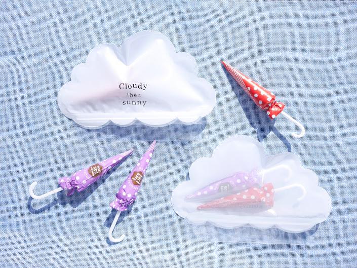 ダイソー 雲形の「ジップバッグ」