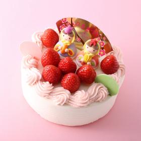 アンテノールの「ひなまつりケーキ」が華やか!3月1日から3日間限定発売