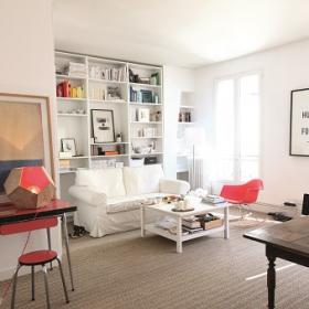 「模様替え」「リフォーム」その前に!憧れのパリの部屋から学ぶ、センスのいい暮らし方