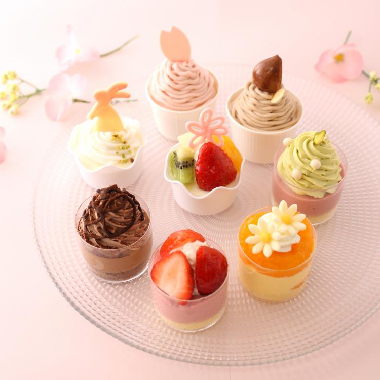 お花見にぴったり!「春限定プティケーキ」のセットがアンテノールから新発売