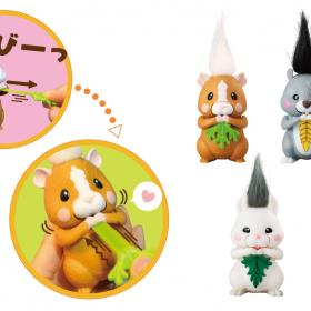 悶絶…小動物がモグモグする「あの可愛い動き」がおもちゃに!リス、ハリネズミなど全4種類
