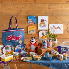 朝食やランチが楽しくなりそう!「ケロッグ」✕212 KITCHEN STOREのコラボアイテムが大人かわいい!