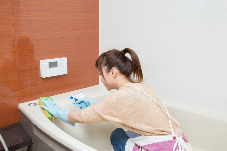 重曹 風呂掃除