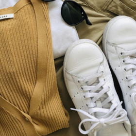 春のオシャレは「真っ白スニーカー」が断然使える!【働くお母さんの、コレ買って大正解!#19】